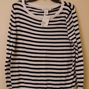 NEW H&M striped sweater